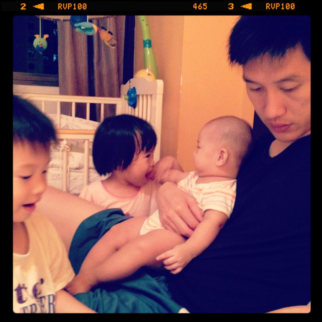 fatherkao and kids