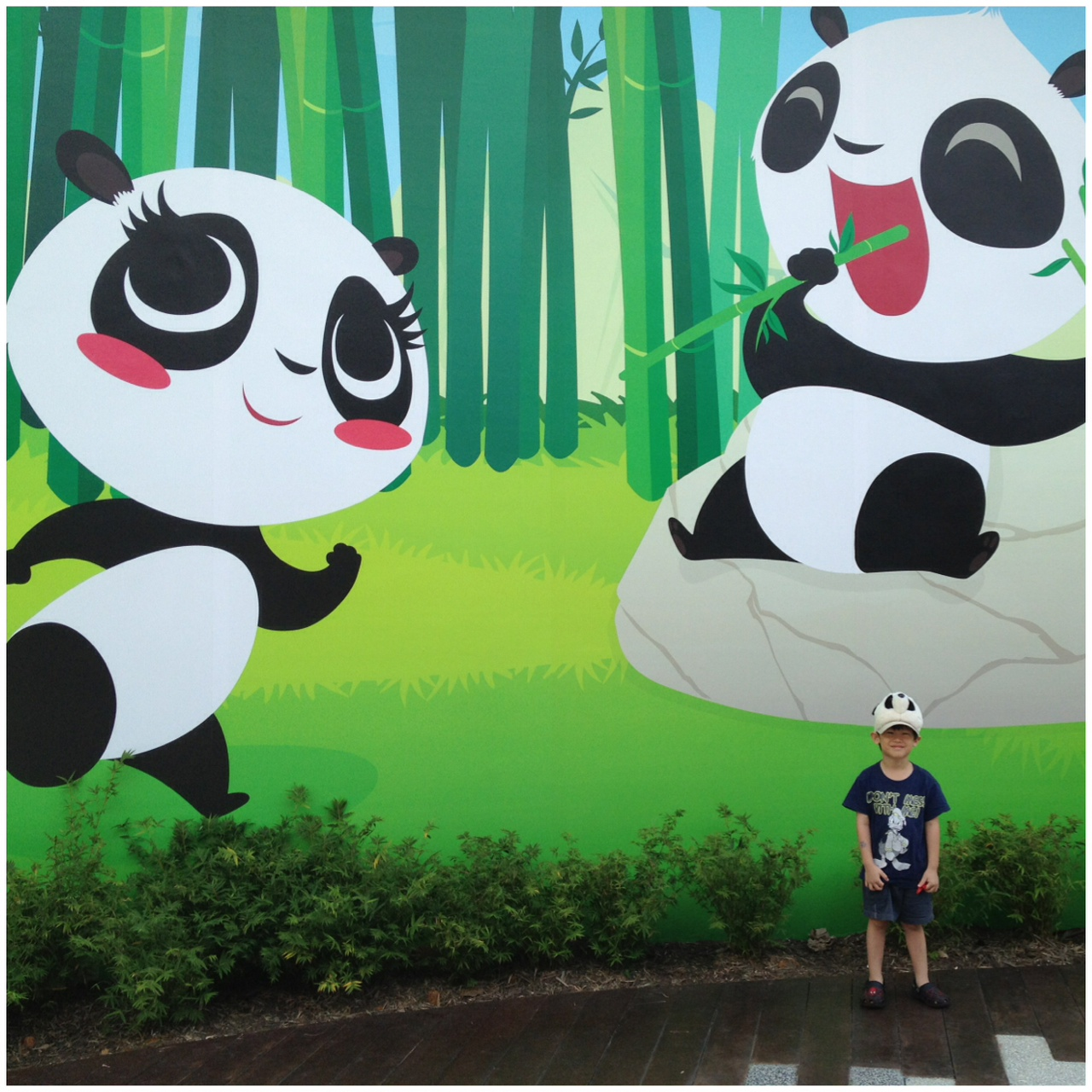 Had a pandastic time
