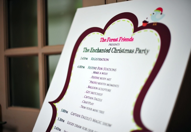 The Enchanted Christmas Party