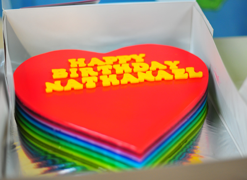 Agar agar cake from Cake Story