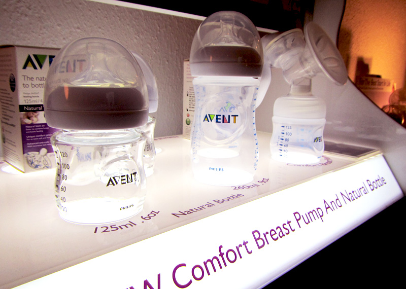 Philips AVENT Natural milk bottles
