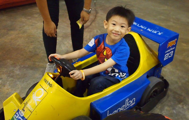 March madness: Go-karting fun