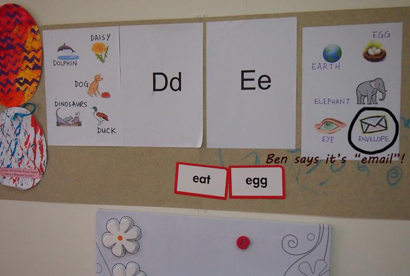Letters D & E
