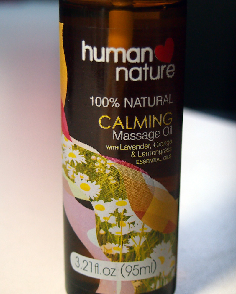 HN Calming Massage Oil
