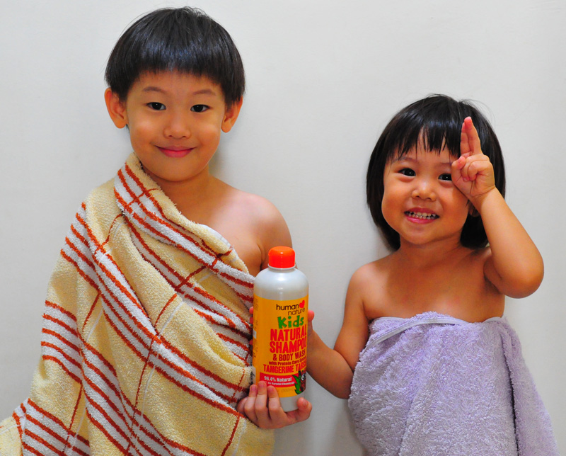 HN Kids Natural Shampoo & Body Wash