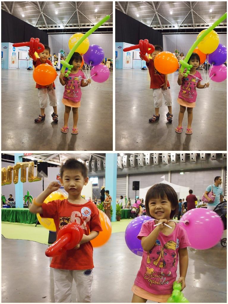Balloons galore at LDO
