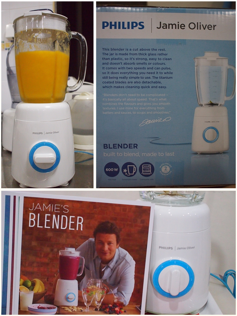 The all new Philips Jamie Oliver Blender