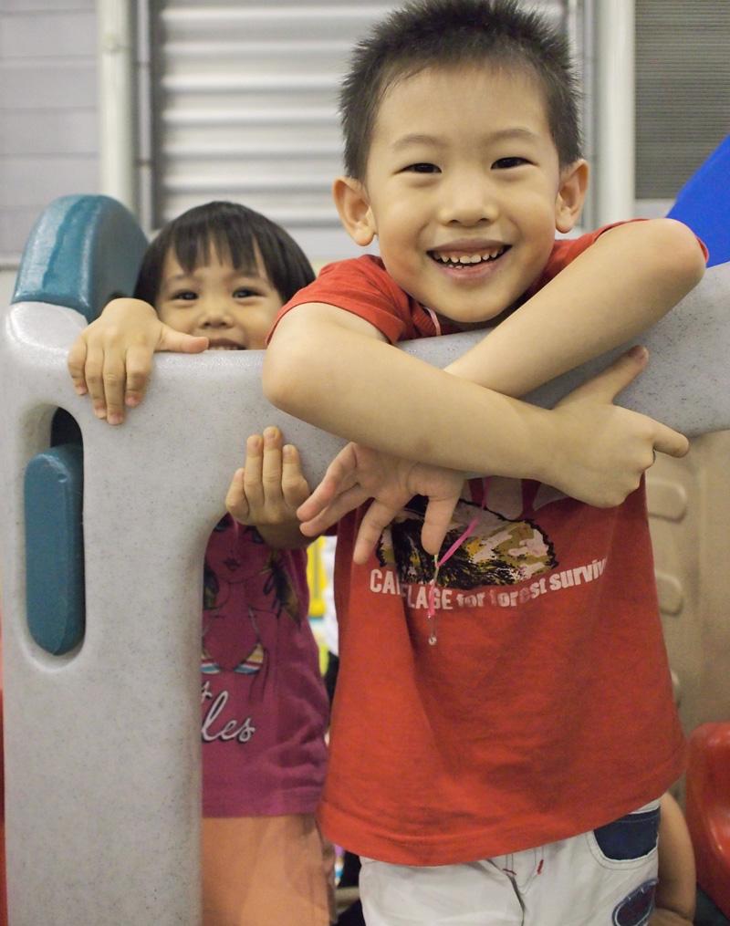 Playground fun at LDO