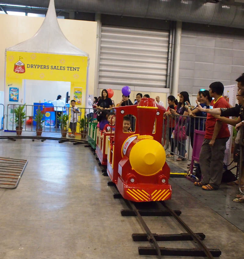 Train ride at LDO
