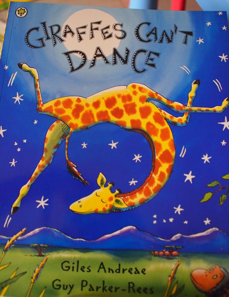 Letter G Giraffes Can't Dance