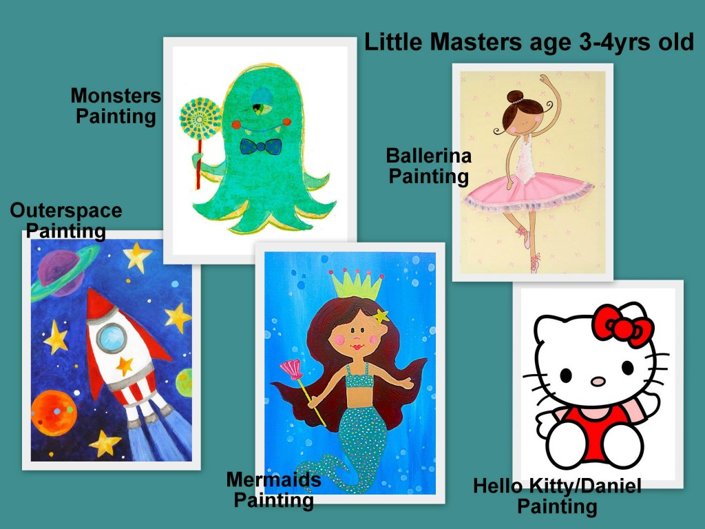 heART Studio Little Masters Sept Holiday Programme