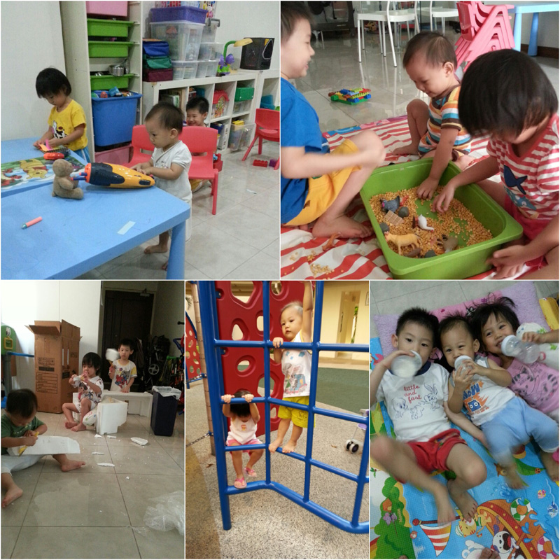 The happiest boy in the house: learning and playing with kor kor and jie jie