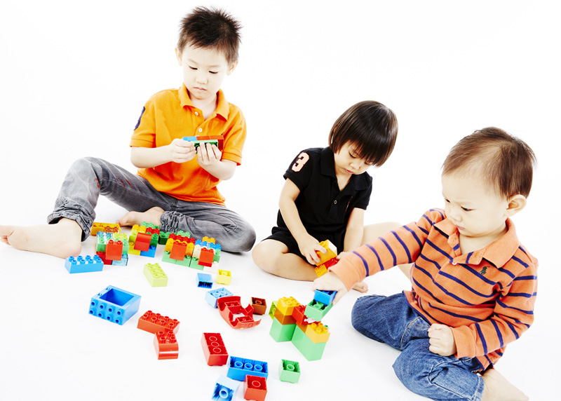 Kao kids and Lego Duplo
