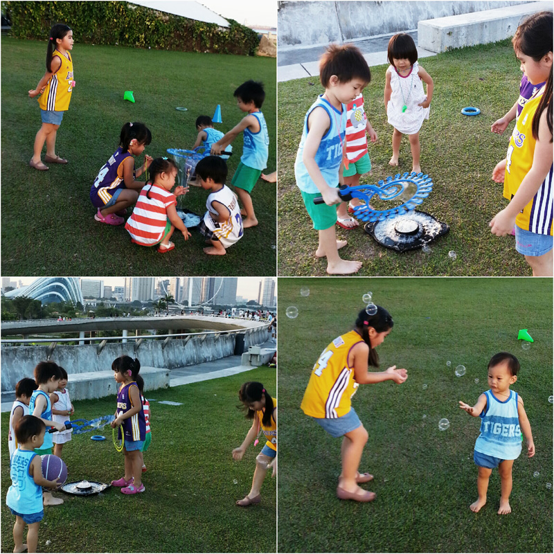 Picnic at Marina Barrage