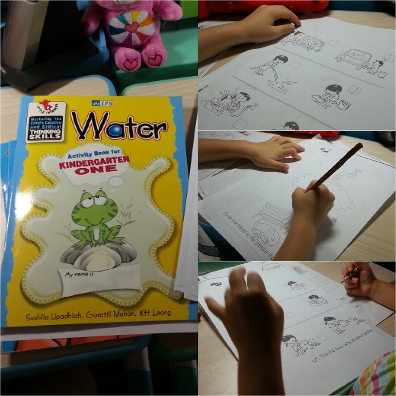 Water worksheets