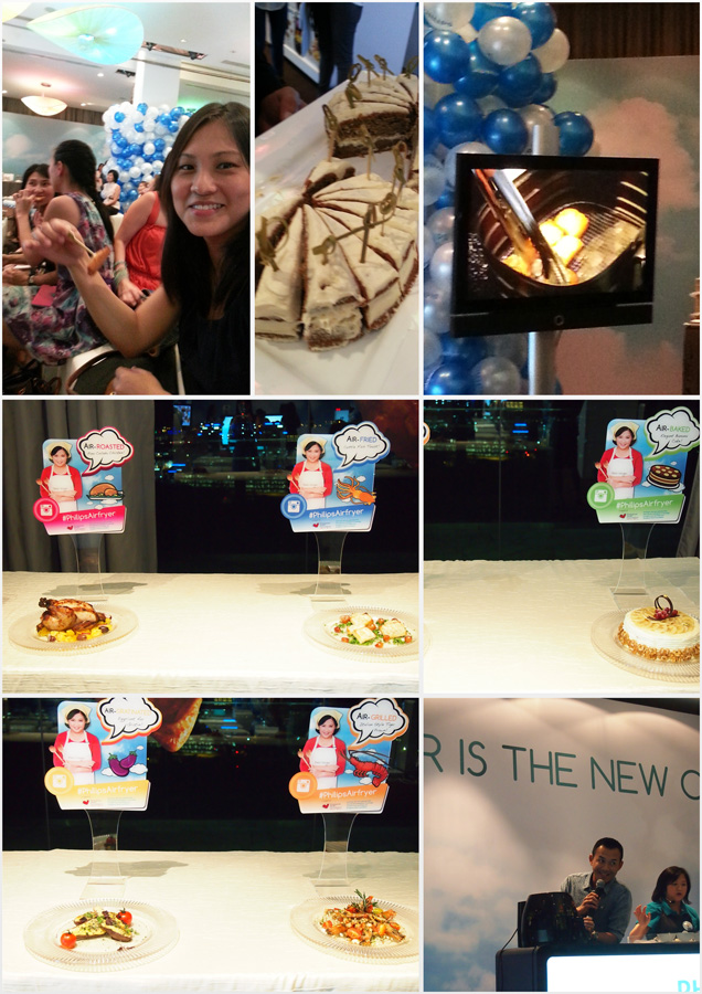 I got to watch a cooking demonstration and a cook-off, plus overeat (again) at the Philips Airfryer Launch