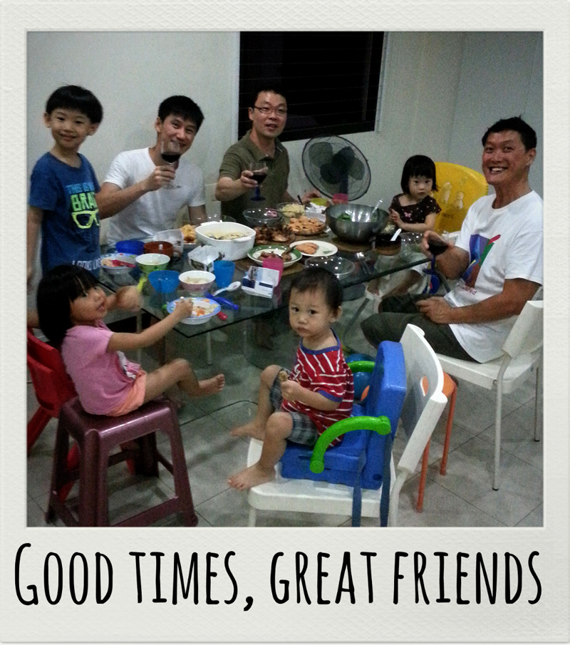 Good times and great food with the Airfryer