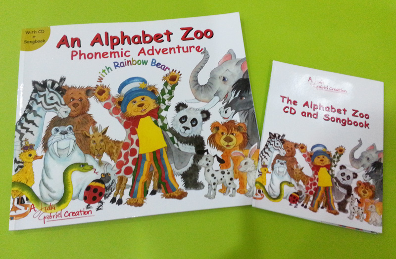 An Alphabet Zoo Phonemic Adventure with Rainbow Bear
