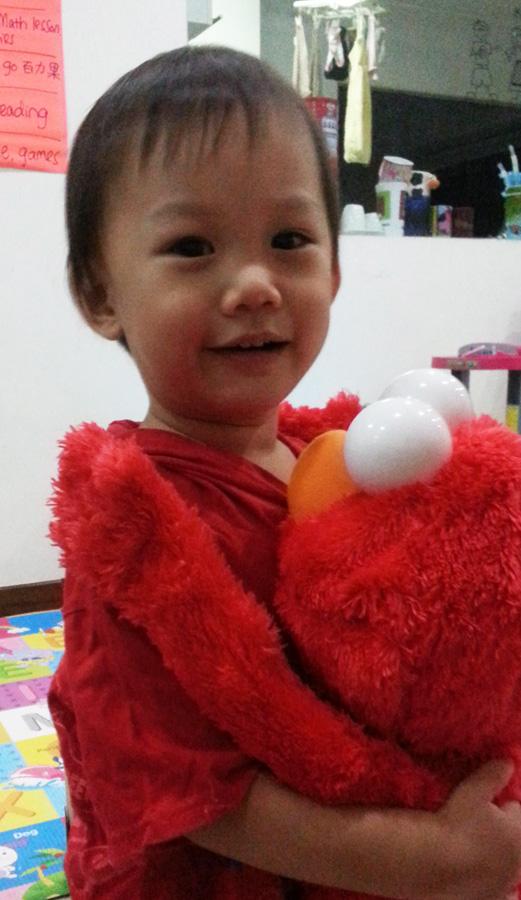 Loving Elmo
