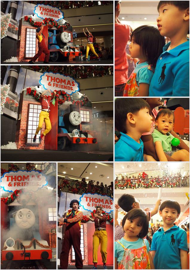 Thomas the train collage