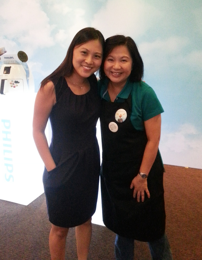 With Chef Dable Kwan, my Airfryer inspiration!