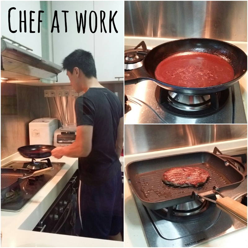 OBE Organic_Chef at work