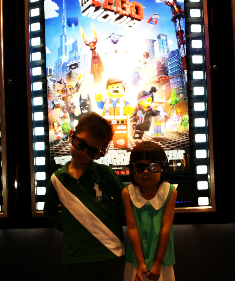 Lego Movie in 3D