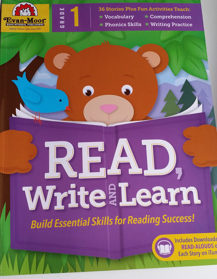 Evan Moor's Read Write & Learn Preschoolers