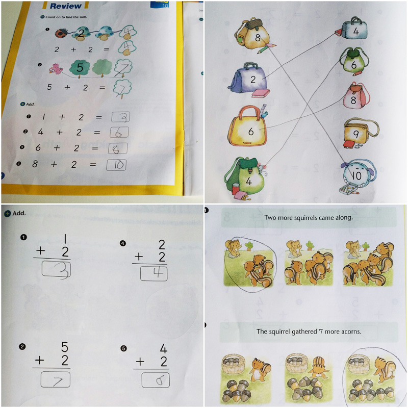 The activity booklet is designed to cover each concept in a variety of ways to keep the child engaged