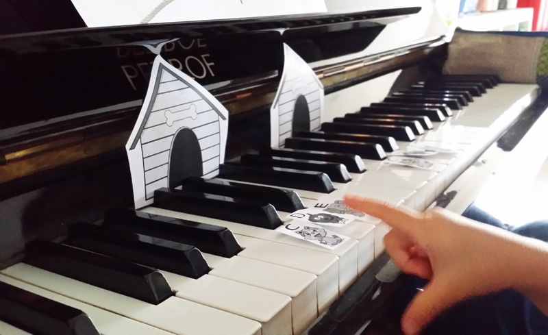 These little fingers are playing the piano, and I am really excited for them