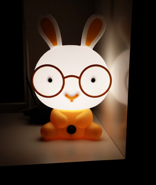 Our Bunny night light