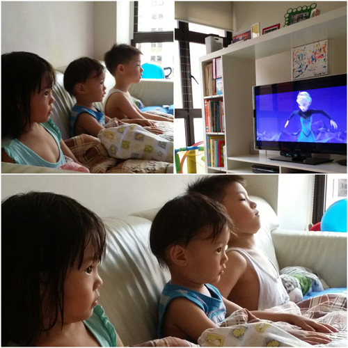 """Although I don't agree with the """"No right, no wrong, no rules for me - Let it go"""" and some other parts of the lyrics of the song, the kids love, love, love this movie. Especially Becks."""