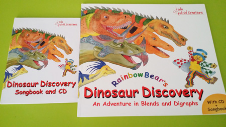JGE_Dinosaur Discovery Book and CD Set