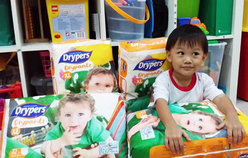 Nat and his Drypantz packs