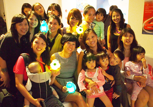 And it was a lovely night catching up with some moms from Singapore Mom Bloggers