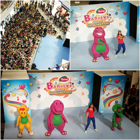 Barney Live Show