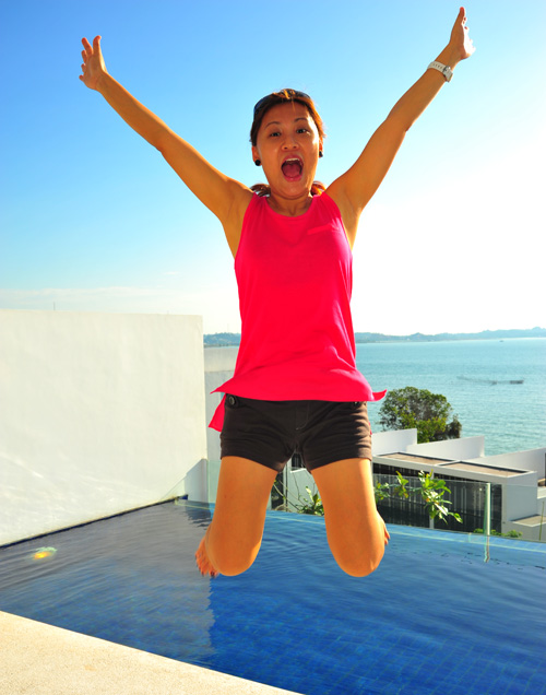 Jumping Mama