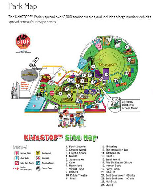 Park Map of KidsSTOP screen-capped from http://www.kidsstop.edu.sg/park-map
