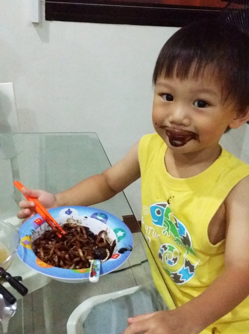 Jjajangmyeon moustache