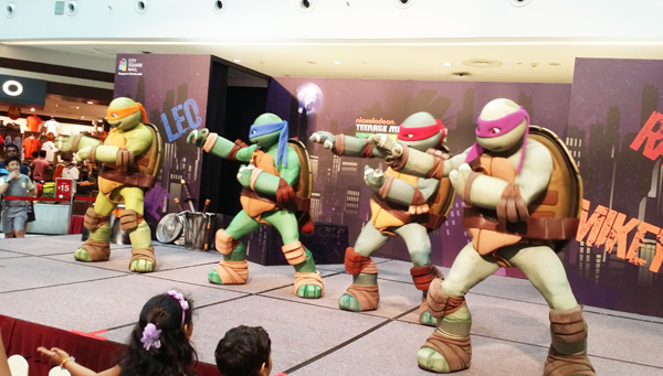 Heroes in a half-shell!