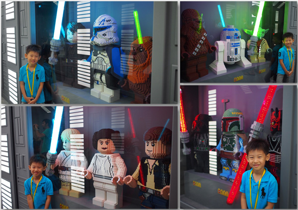 With more LEGO-modelled Star Wars characters