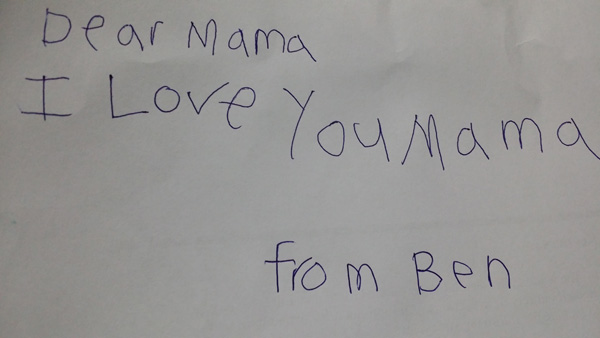 From Ben to Mama