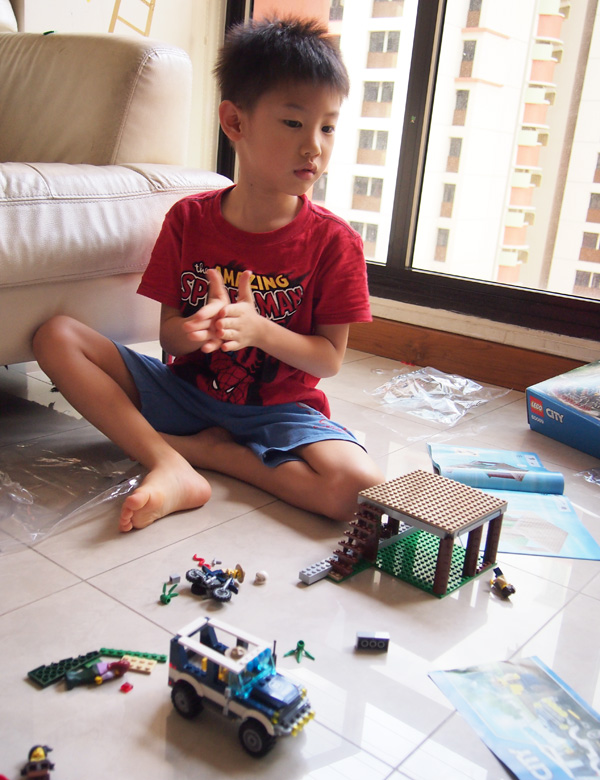 Ben the Builder, at work!