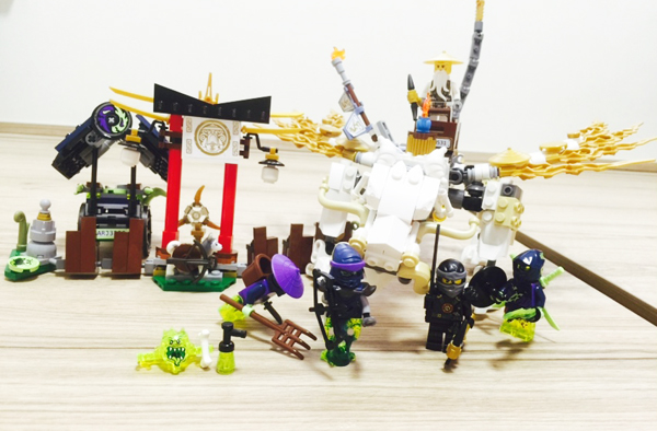 Ninjago Master Wu Dragon completed