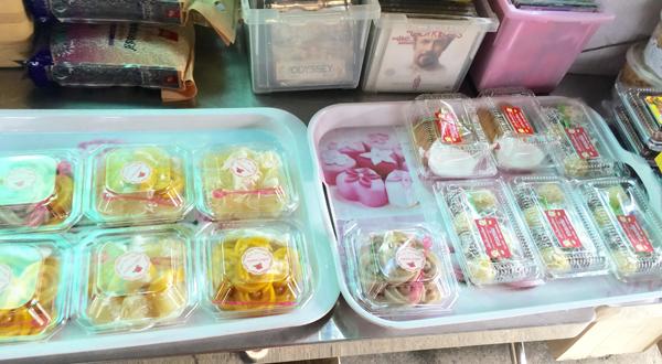 Dessert for sale