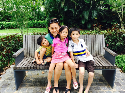 Motherkao and kids