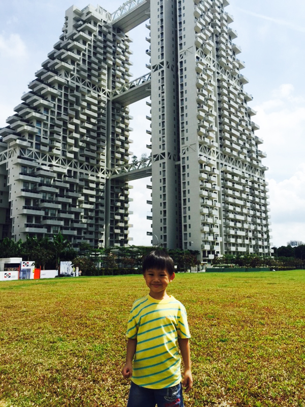 Walked across a big field and we were at Bishan Interchange in 3 minutes
