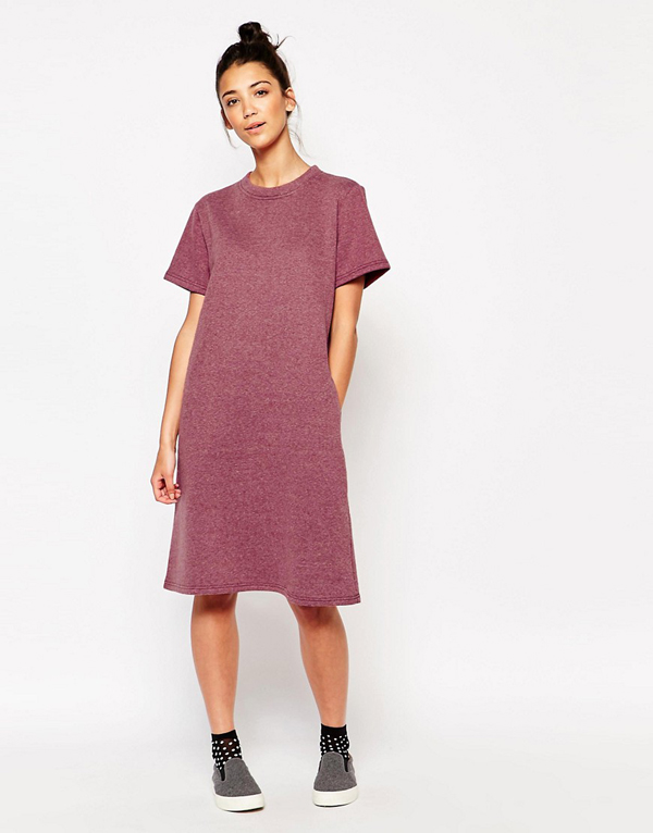 Just wear and go - t-shirt dress for easy breezy wearing (Dress from The White Pepper, from asos.com)