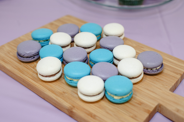 Macarons in Rarity colours