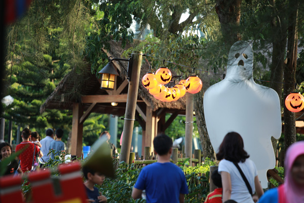 Halloween inspired all round the park Picture credit: Legoland Malaysia